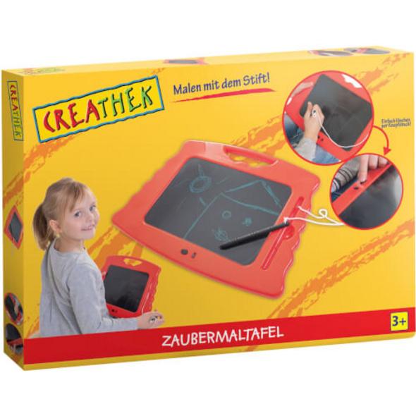 Creathek Zaubermaltafel 4-farbig