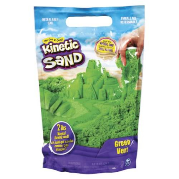 Spin Master Kinetic Sand Colour Bag Grün 907 Gramm