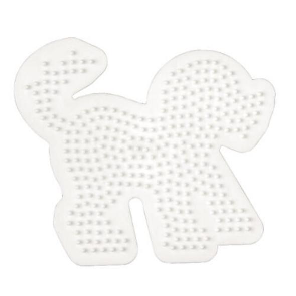 HAMA 287 Bügelperlen Midi - Stiftplatte Hund, ab 5 Jahren