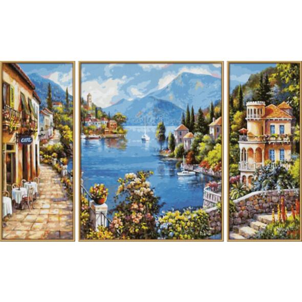 Schipper Malen nach Zahlen  - Lago Romantico