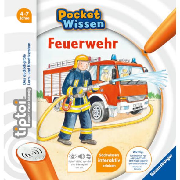 Ravensburger 55413 tiptoi® Pocket Wissen: Feuerwehr -F18