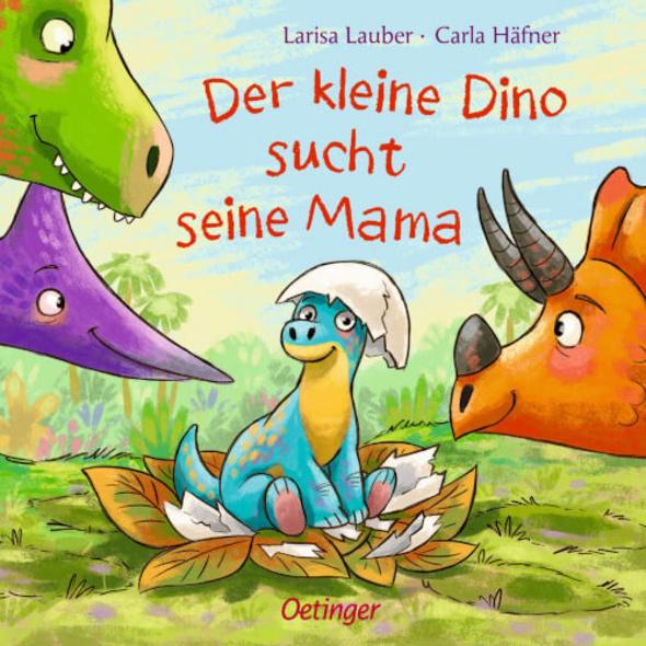 Der kleine Dino sucht seine Mama.