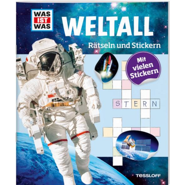 Tessloff WAS IST WAS Rätseln und Stickern: Weltall