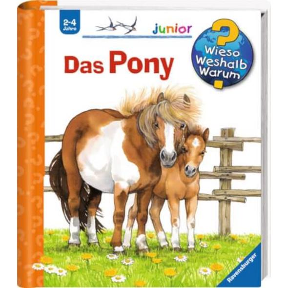Ravensburger 32773 Wieso? Weshalb? Warum? junior 20: Das Pony