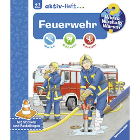 Ravensburger 32691 Wieso? Weshalb? Warum? aktiv-Heft Feuerwehr