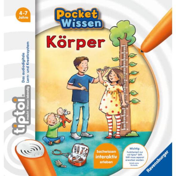 Ravensburger 55420 tiptoi® Pocket Wissen: Körper
