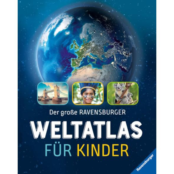 Ravensburger 55454 Der große RV Kinder-Weltatlas