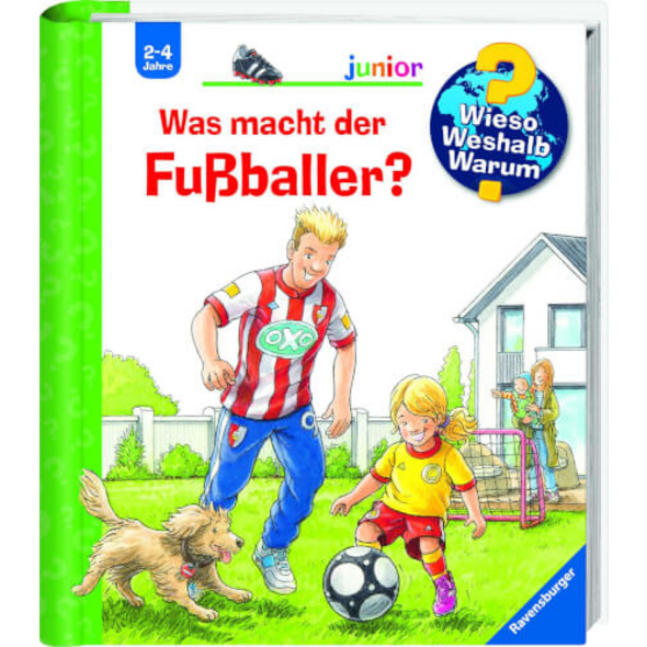 Ravensburger 32967 WWWjun68: Was macht der Fußballer