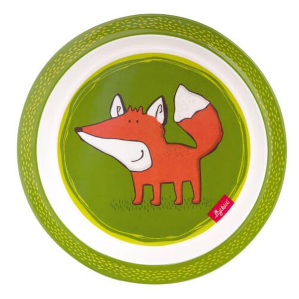 Sigikid 25101 Melamin Teller Forest Fox