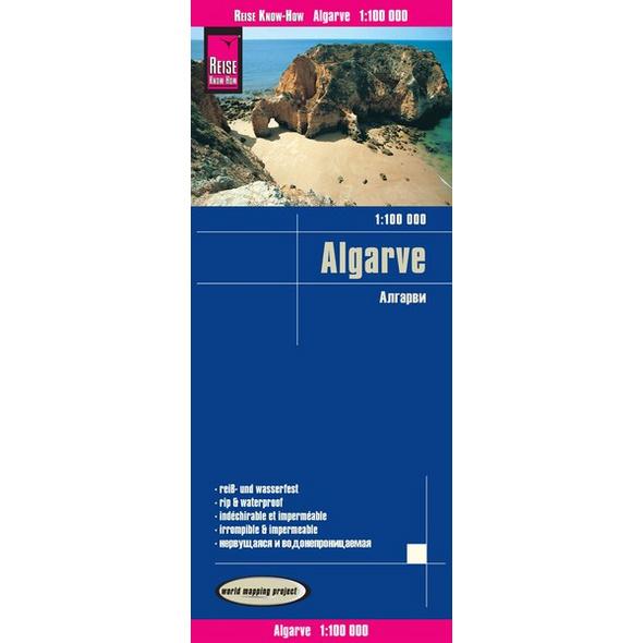 Reise Know-How Landkarte Algarve (1:100.000)