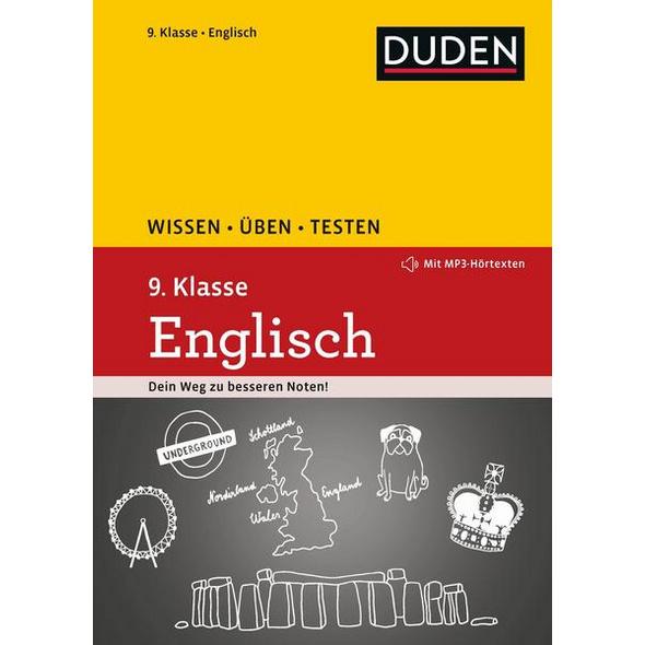 Wissen – Üben – Testen: Englisch 9. Klasse