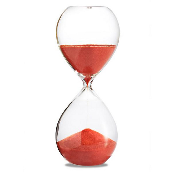 Sanduhr 'Time Out' 5 Minuten, orange