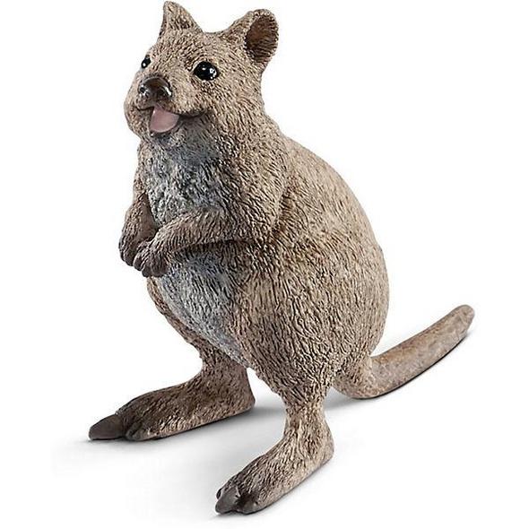Schleich 14823 - Wild Life, Quokka, Spielfigur, Tierfigur, Beuteltier