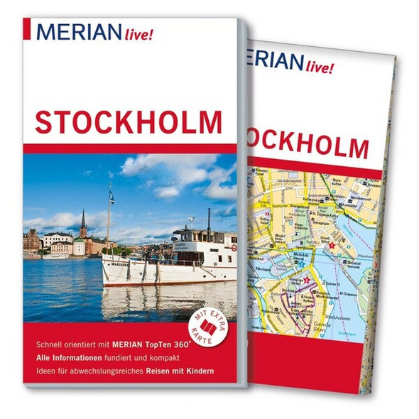 MERIAN live! Reiseführer Stockholm