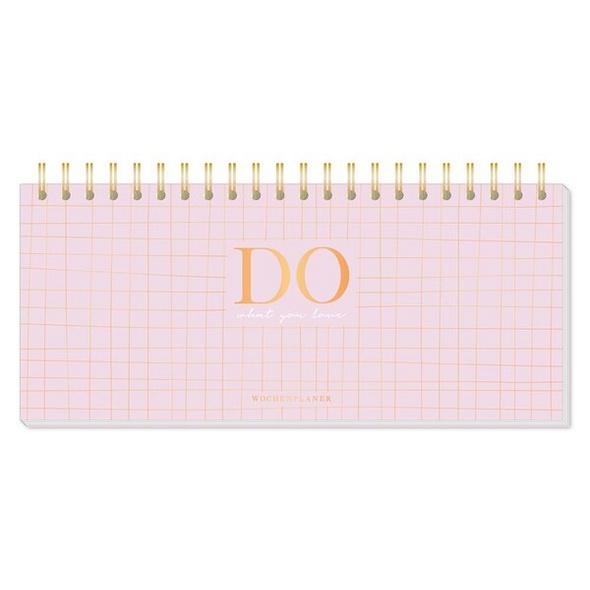 Premium-Wochenplaner 'Do what you love'