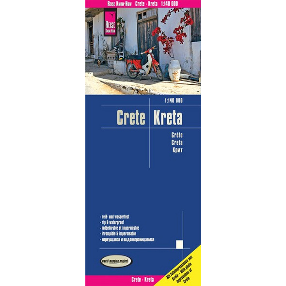 Reise Know-How Landkarte Kreta / Crete (1:140.000)
