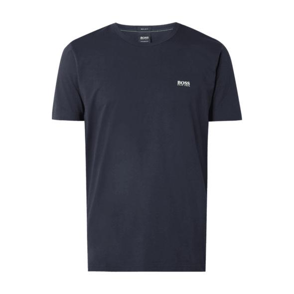 T-Shirt mit gummierten Logo-Prints Modell 'Tee'