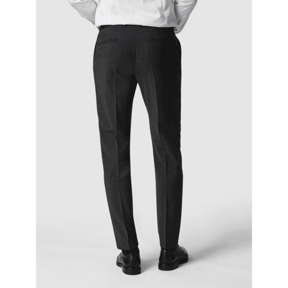 Slim Fit Anzughose mit Bügelfalten 'Flex Cross'