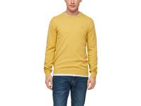 Feinstrick-Pullover in Unicolor - Pullover