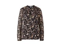 Tunikabluse mit Blumenmuster - Bluse