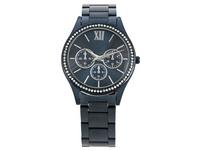 Uhr - Metallic Blue