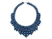 Kette - Metallic Blue
