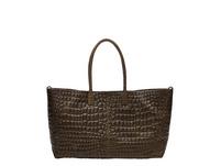 Shopper mit Krokoprägung - Malibu Chelsea L
