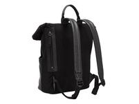 großer Kurierrucksack mit Leder-Applikationen - Staton Backpack L