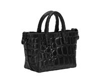 Mini Crossbody Bag mit hochwertiger Krokoprägung - Annie Chelsea XS