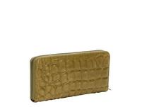 Leder-Brieftasche mit Krokodilhautprägung - Kroko Gigi