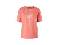 Jerseyshirt mit Art-Print - Modal-Shirt