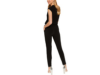 Jersey-Jumpsuit mit Gürtel - Overall