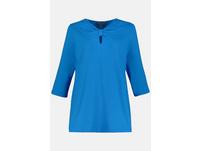 Shirt, Drapierung, Glitzer, 3/4-Ärmel, selection
