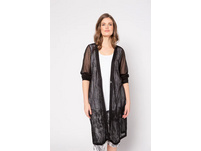 Cardigan, Ajour-Strick, Wellendesign, Langarm, selection