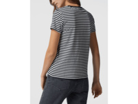T-Shirt aus Baumwolle mit Streifenmuster