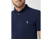 Slim Fit Polo Shirt mit Logo