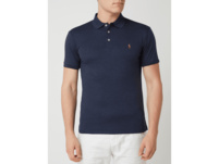 Slim Fit Poloshirt mit Logo-Stickerei