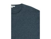 Pullover in Melange-Optik