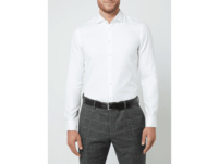 Super Slim Fit Business-Hemd aus Twill