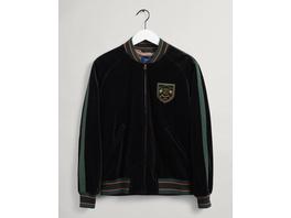 GANT Varsity Jacket aus Samt