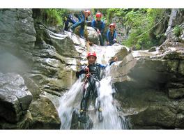 Canyoning für Einsteiger im Oetztal