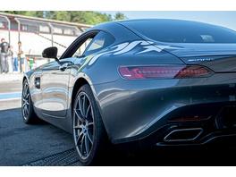 Renntaxifahrt im Mercedes AMG GT-S