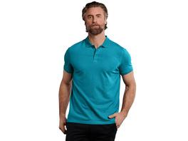 softes Poloshirt aus Baumwoll-Modal-Mix