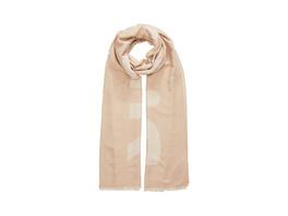 Softer Schal aus Doubleface - Wording-Schal