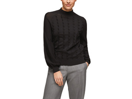 Pullover mit Strukturierung - Feinstrick-Pullover
