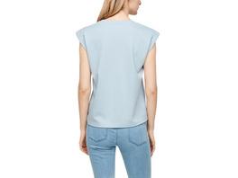 Sweatshirt mit Folienprint - T-Shirt