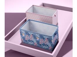 2 Schubladen-Ordnungsboxen, rechteckig