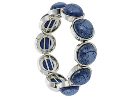 Armband - Marbled Blue