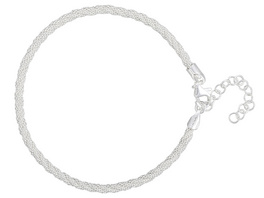 Armband - Silver Cord