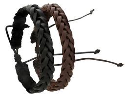 Armband - Braided Leather